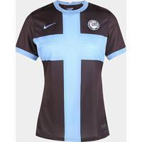 Camisa Corinthians Iii 20/21 S/N° Torcedor Nike Feminina - Feminino-Marrom+Azul