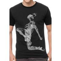 Camiseta Vista Rock Muay Thai Preta