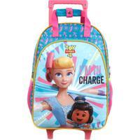 Mala Escolar Toy Story 4®- Azul Claro Rosa Escuro-Dermiwil