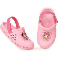 Sandália Clog Infantil Grendene Disney Love Minnie