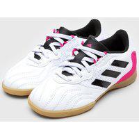 Chuteira Adidas Infantil Copa 21 3 Salão Jr Branca