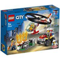 Lego City - Combate Ao Fogo Com Helicoptero
