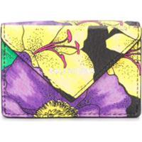 Balenciaga Carteira Paper Com Estampa Floral - Amarelo