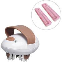 Massageador Elétrico Anti Celulite + Estojos Esterilizadores De Escova De Dentes - Unissex