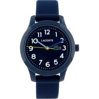 Relógio Lacoste Infantil Borracha Azul - 2030002