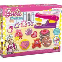 Barbie Massinha Cookies Coloridos - Fun Divirta-Se - Kanui