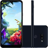 """Smartphone Lg K40S Preto 32Gb 3Gb De Ram Tela De 6,1"""" Octa Core Camer"""