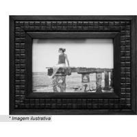 Porta Retrato Sunshine- Preto- Tamanho Da Foto: 10X1Kapos