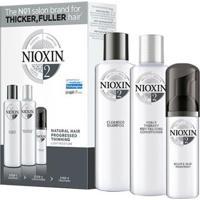 Kit Nioxin Loyalty Kit Sistema 2 Shampoo 300Ml + Condicionador 300Ml + Leave-In 100Ml - Unissex-Incolor