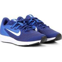 Tênis Infantil Nike Downshifter 9 Gs - Unissex-Azul+Marinho