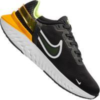 Tênis Nike Legend React 3 - Masculino - Preto/Amarelo Esc