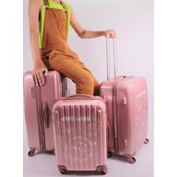 Conjunto Mala De Viagem Rose - Rosa - Feminino - Dafiti