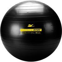 Bola De Pilates 55 Cm Preta Ziva - Unissex