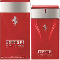Perfume Ferrari Man In Red Masculino Eau De Toilette 100Ml