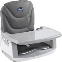 Cadeira De Alimentação Booster Chicco - Unissex-Branco+Cinza