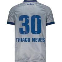 Camisa Umbro Cruzeiro Nº30 Thiago Neves Iii 2018 Masculina - Masculino