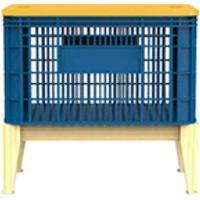 Caixa Organizadora Pine Azul - Veromobili