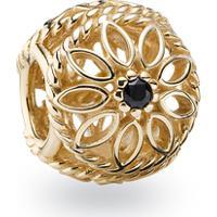 Charm De Ouro Vazado Beleza Delicada
