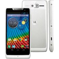 "Smartphone Motorola Razr D3 Xt919 - Branco - 4Gb - 3G - 8Mp - Tela 4"" - Android 4.1"