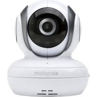 Babá Eletrônica Motorola Com Monitor Colorido Mbp33S Branco