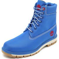 Bota Timberland Radford Canvas Boot Azul