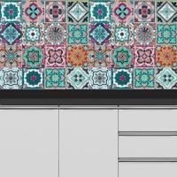 Adesivo Azulejos Mexicanos (20X20Cm)