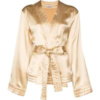 Deitas Blusa Kimono Luna - Neutro