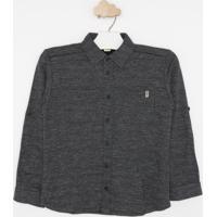 Camisa Em Flame- Cinza Escurogreen