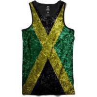 Regata Bsc Bandeira Jamaica Sublimada Masculina - Masculino