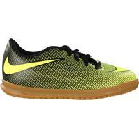 Chuteira Futsal Infantil Nike Bravata 2 Ic Amarelo/Preto - 31