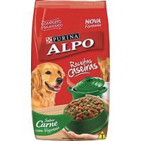 Ração Para Cães Alpo Receitas Caseiras Adultos Sabor Carne Com Vegetais 18Kg