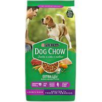 Ração Para Cães Dog Chow Extra Life Adulto 7+ Todos Os Tamanhos Com 1Kg