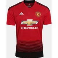 2075a79291 Netshoes  Camisa Manchester United Home 2018 S N° Torcedor Adidas Masculina  - Masculino
