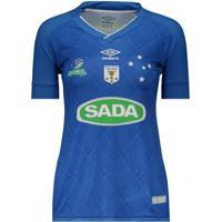 Camisa Umbro Cruzeiro Vôlei Iii 2017 Feminina