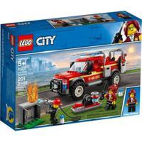 Lego City - Caminhão Do Chefe De Bombeiros - 60231