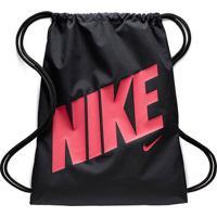 Sacola Infantil Nike Gmsk Gfx - Unissex-Preto+Pink