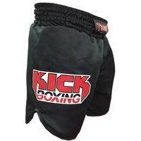 Calção / Short Kickboxing - Kicks Mma - Cavado- Preto - Toriuk