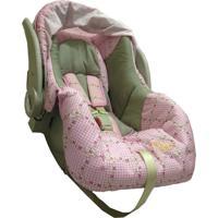 Bebe Conforto Para Carro C/ Inmetro Baby Style Rosa - Tricae