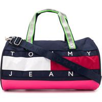 Tommy Jeans Bolsa Color Block - Azul