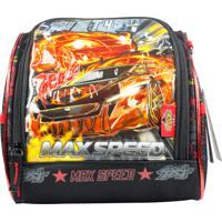 Lancheira Max Speed Cg30171 Preta
