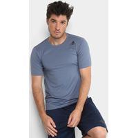 Camiseta Adidas Freelift Fitted Masculina - Masculino-Prata