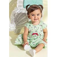 Vestido Menina Brandili Baby Verde