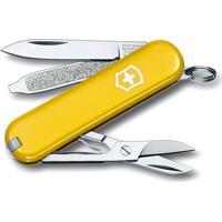 Canivete Classic Sd- Inox & Amarelo Escuro- 5,8Cm