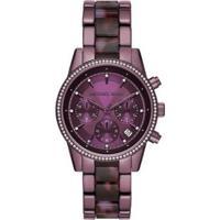 Relógio Michael Kors Ritz Mk6720/1Nn Feminino - Feminino-Roxo