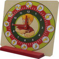 Relógio Educativo Libras - Fundamental