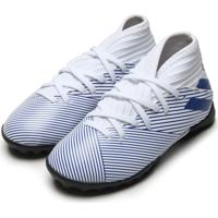 Chuteira Adidas Performance Menino Nemeziz 19 3 Tf Jr Azul/Branca
