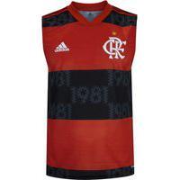 Camiseta Regata Do Flamengo I 2021 Adidas - Masculina
