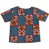Blusa Bata Infantil Hype Kids Africana Sudão Masculina - Masculino-Azul