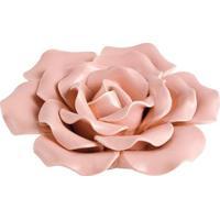 Flor Decorativa- Rosa Claro- 5Xø13Cm- Martmart