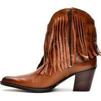 Bota Texana Em Couro Country Capelli Boots Marrom